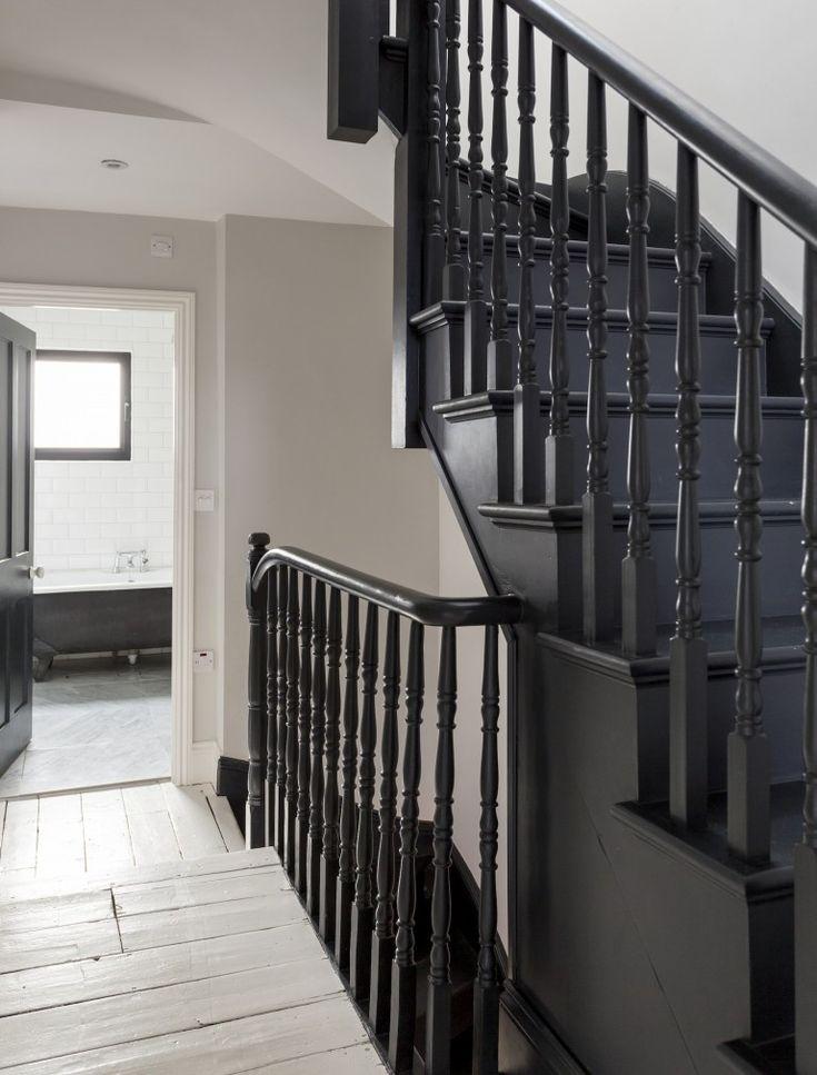 Best 25 Black Painted Stairs Ideas On Pinterest Black