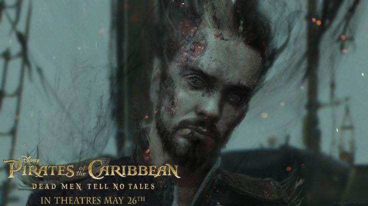 pirates of the caribbean dead man tells no tales poster