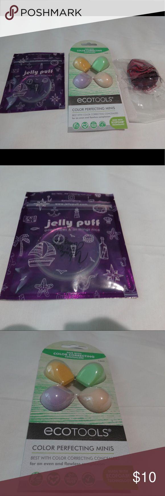 NIB makeup sponges and blenders NIB new Jelly Puff