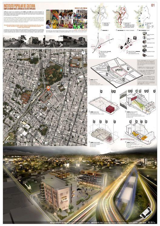 Los 12 mejores proyectos arquitectónicos de fin de carrera en Colombia,Instituto Popular de Cultura. Image © Brayan Lerma Forero