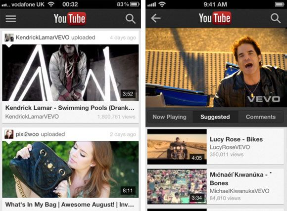 Google Launches Native YouTube App for iPhone - the only problem is that it can't open links from the web or email : /