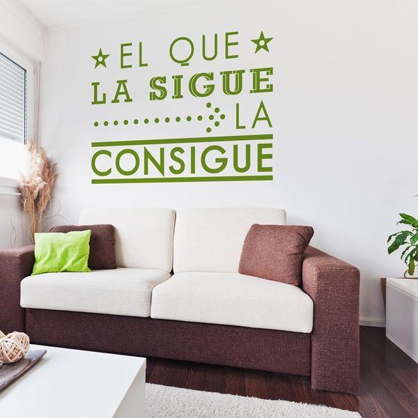 20 best images about vinilos decorativos textos on for Vinilos decorativos textos