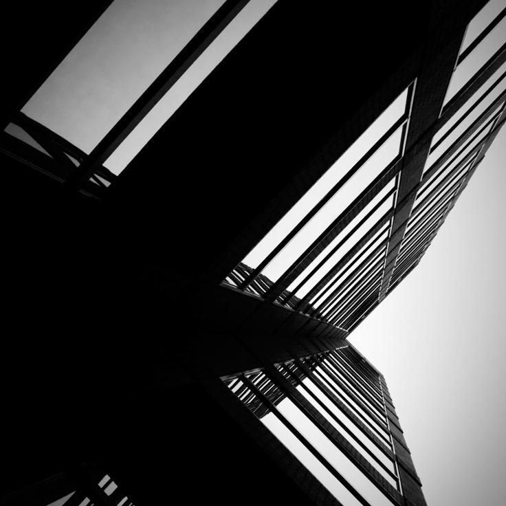perpendicular by Jon DeBoer: Jon Deboer, Black White
