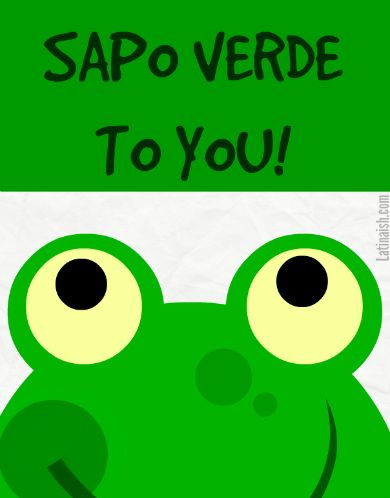 sapo verde to you - Buscar con Google