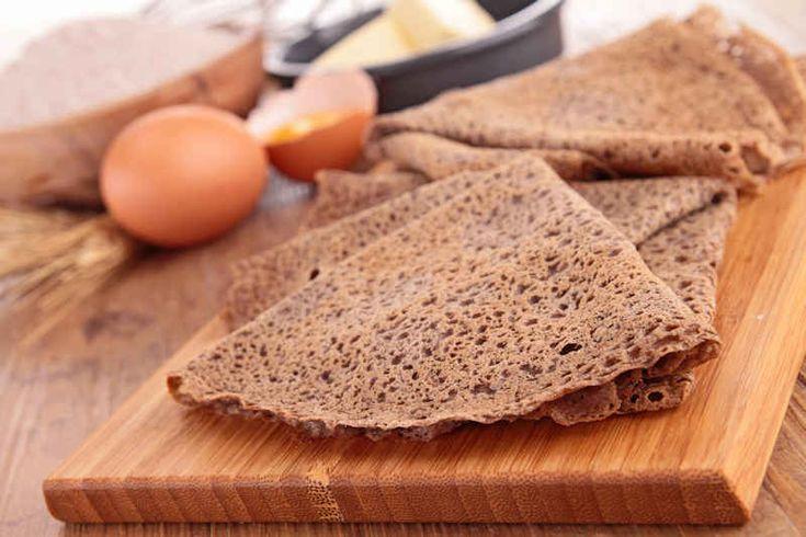 Suikervrije recepten: Boekweit-amandel pannenkoeken