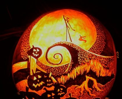 halloween pumpkin carvings: