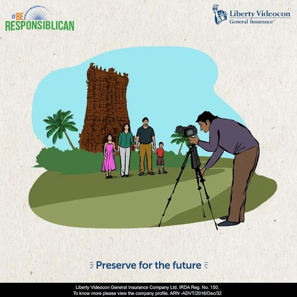 Let's pledge to preserve our past for a better future. It's time to #BeResponsiblican