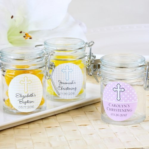 Personalized Glass Party Favor Jars by Beau-coup