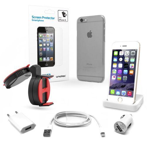 PACK ESENCIAL DE IPHONE 6 http://www.137.devuelving.com/producto/pack-esencial-de-iphone-6/13219