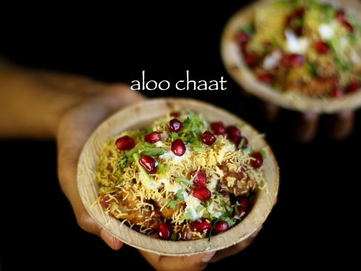 aloo chaat recipe, how to make spicy alu chaat, potato chaat with step by step photo/video. popular steet food of delhi/mumbai prepared with potato wedges.