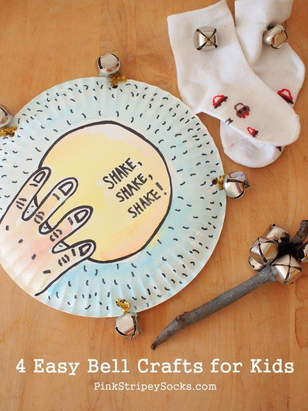4 easy bell crafts for kids