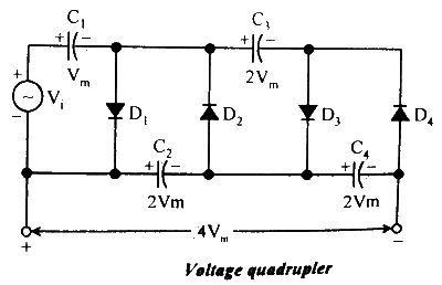 Voltage Multipliers | Circuit diagram, Circuit, Capacitors