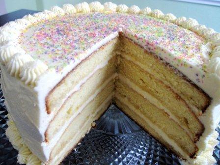 Vanilla Wedding Cake