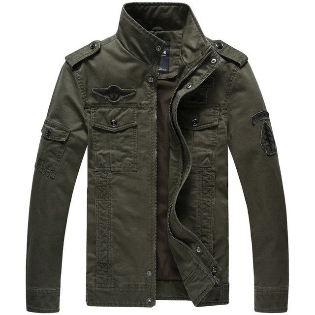 Men Military Style Jackets