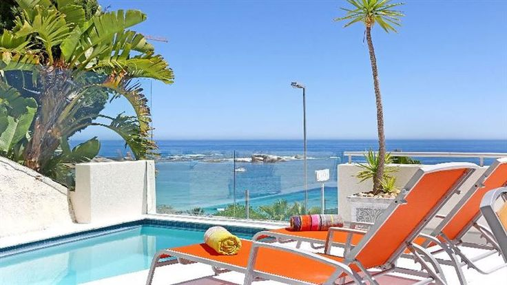 Clifton Santorini - Situated on the Atlantic Seaboard, Clifton Santorini is a spectacular 4-star apartment overlooking the Atlantic Ocean.With three bedrooms, two bathrooms, a private plunge pool, luxurious touches and an ... #weekendgetaways #clifton #capetowncentral #southafrica