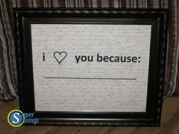 """""""I Love You Because"""" Frame 