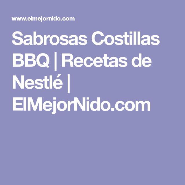 Sabrosas Costillas BBQ | Recetas de Nestlé | ElMejorNido.com