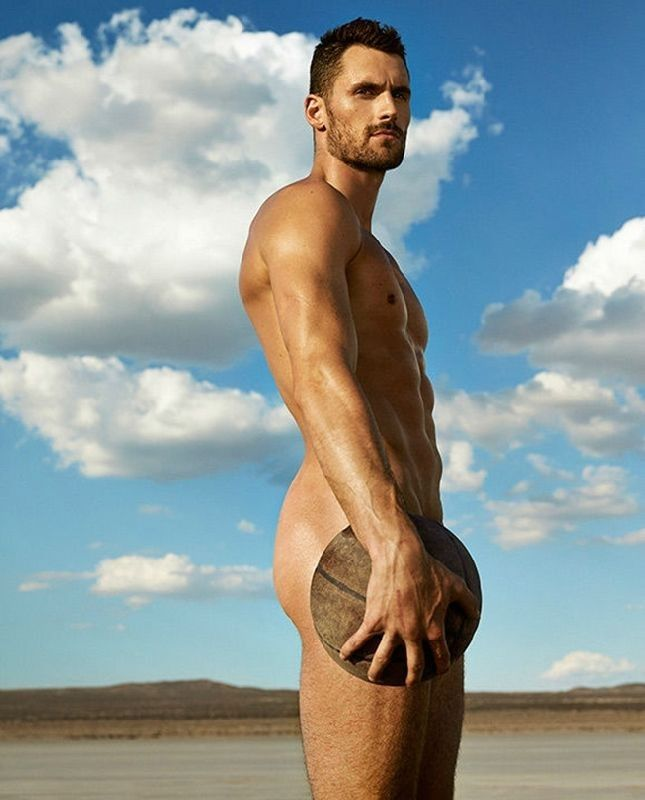 Kevin love in 39 body 39 for espn eye candy pinterest for Model flat pictures