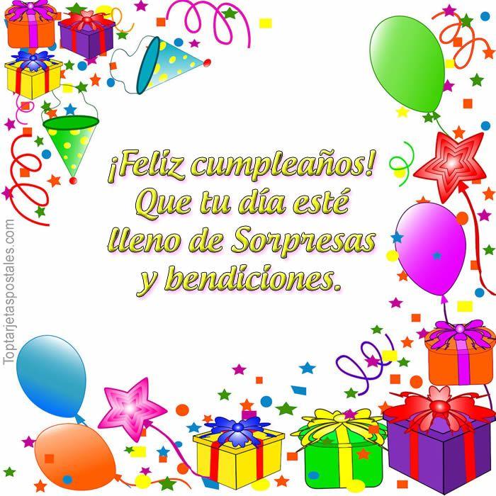 Frases y Dedicatorias de Feliz Cumpleaños para Compartir - http://toptarjetaspostales.com/frases-dedicatorias-feliz-cumpleanos-compartir/