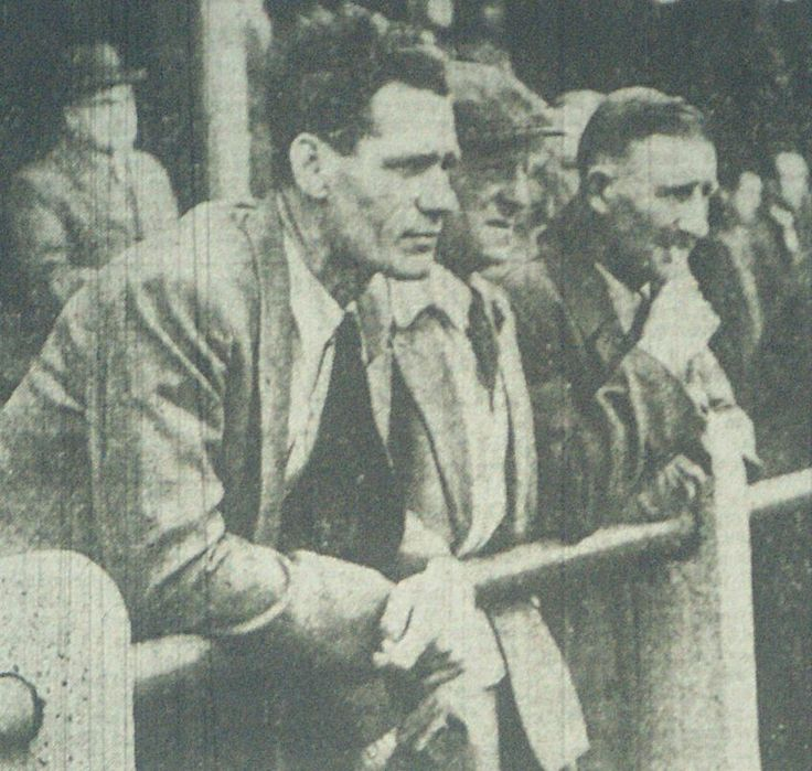 Dougie Wright Blyth Spartans manager August 1956