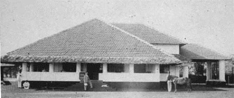 British colonial architecture - Daisy's bungalow would have been nowhere near as splendid!