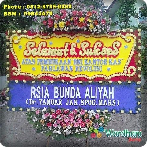 Bunga Papan Selamat Sukses SS962WF