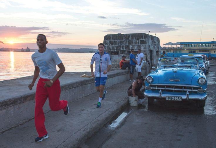 Jogging a L'Avana