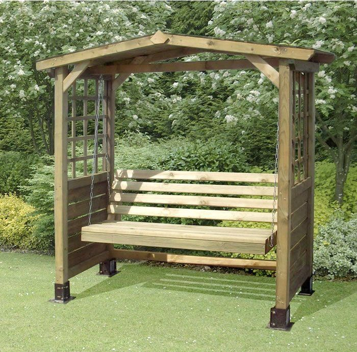 Wonderful Garden Swing Bench Wood Wooden Garden Swing Bench Plans
