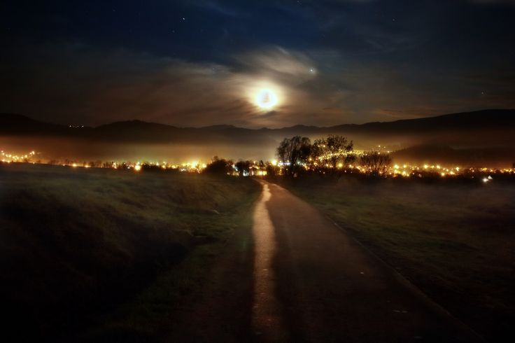 Moon Road by Simon Pytel on 500px