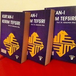 Kur'an-ı Kerim Tefsiri / Prof. Dr. Süleyman Ateş - 3 Cilt (İkinci El)