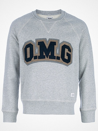 2012.04.27. OMG! We dig this grey cotton college style jersey from Acne.
