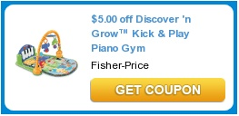 $5.00 off Discover 'n Grow™ Kick & Play Piano GymPies Crusts, Grocery Coupon, Hot Coupon, Products Printables, Coupon Deals, Printables Coupon, Features Coupon, Free Stuff, Printables Grocery
