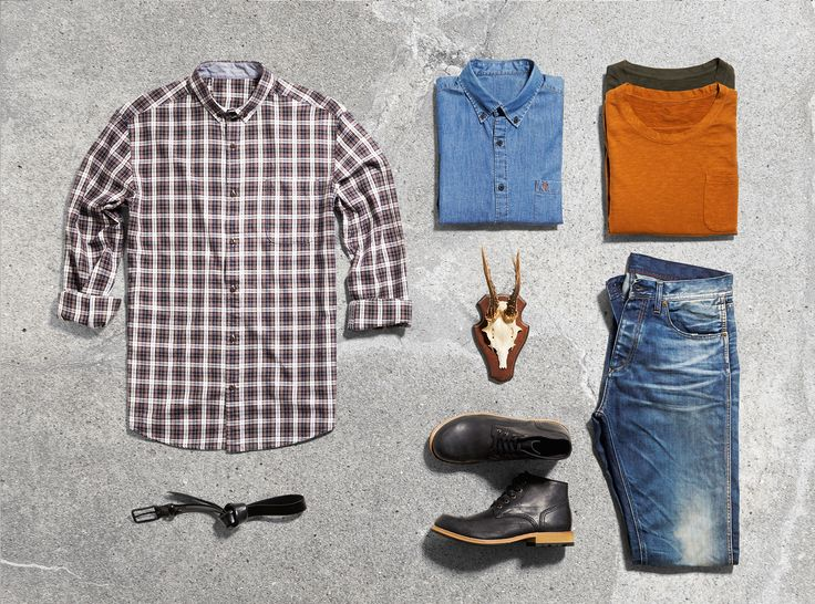 Add some colour to your casual look