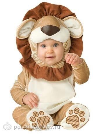 первый новый год -костюм для малыша
