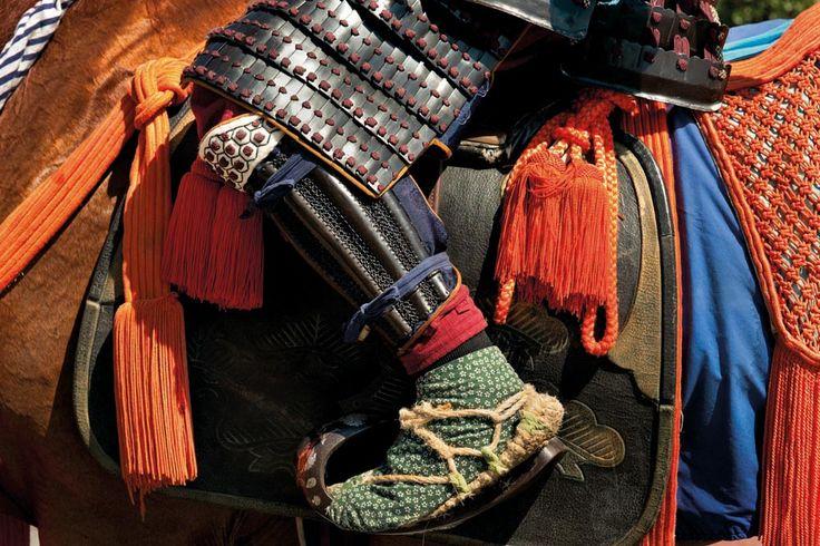 Stirrup of Japanese saddle
