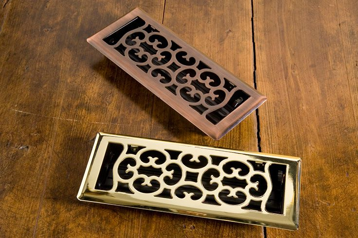 Antique Styled Steel Vent 3 in Brass & Oil Rubbed Bronze | Buy at Schots in Melbourne & Geelong, Australia