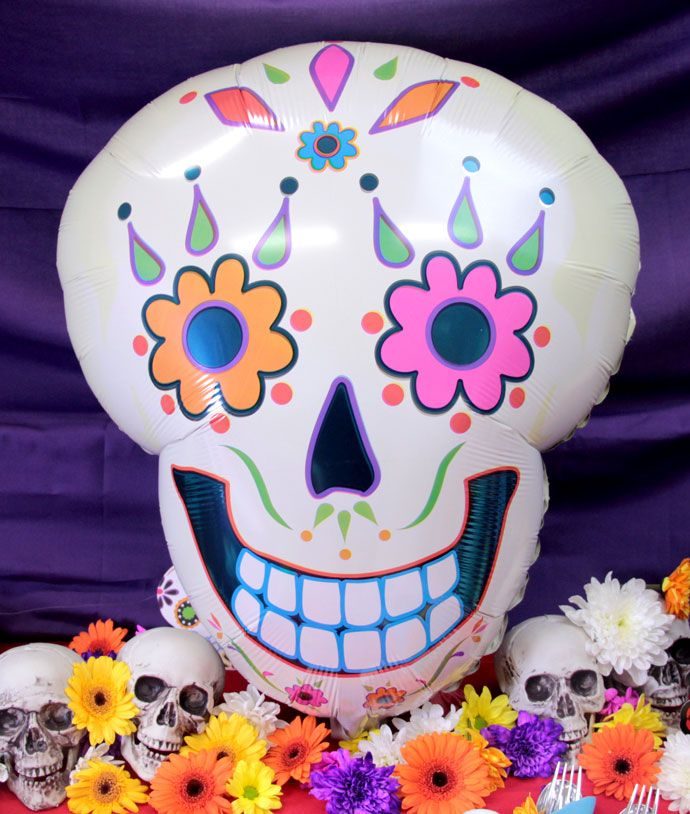 how to throw the ultimate day of the dead party - Day Of The Dead Halloween Decorations