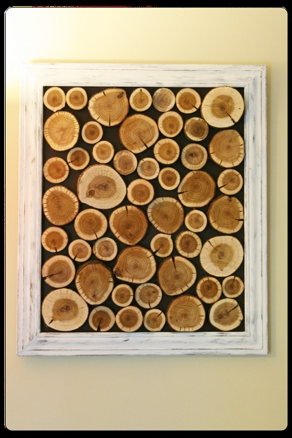 Log Wall Art Tree LogsLog WallWooden ProjectsWood CraftsWood