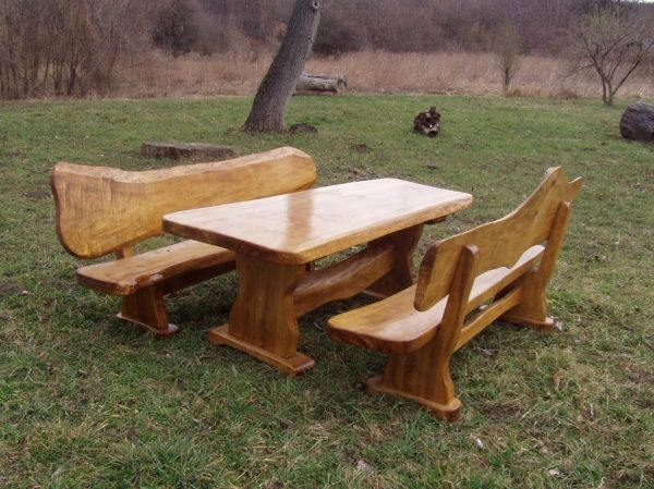 Rusztikus kerti bútorok, Soltvadkert [Pepita Hirdető]