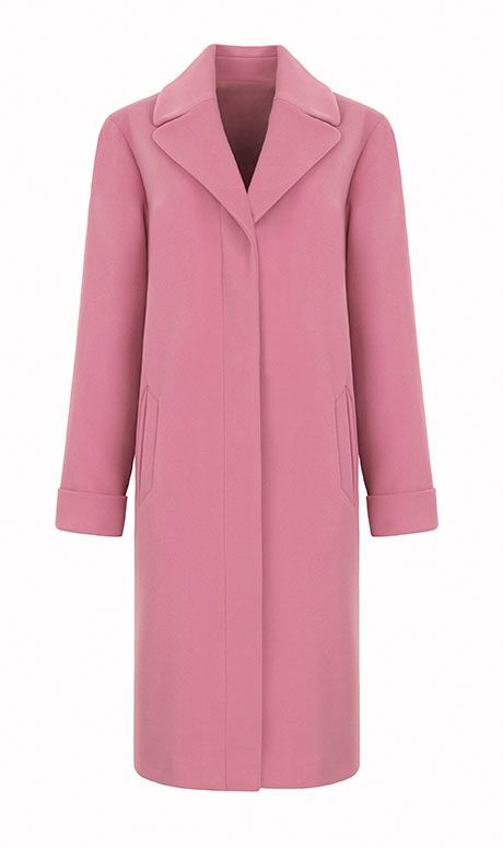 People are quite excited about this Marks & Spencers pink coat. I like the cut but it's a bit pink for me.