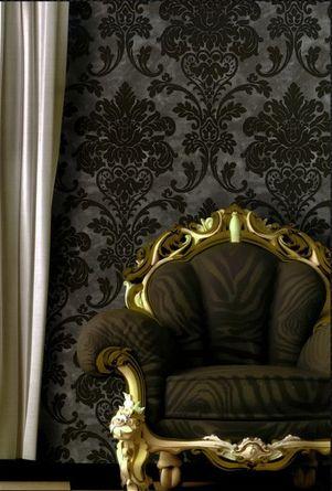 Colectia de tapet Kashmir,Tapet de lux Portofino,Tapet living de lux,Tapet modern pt. living si dormitor, Tapet de lux cu catifea.Colectia este foarte bogata in diverse variante de modele:dungi,damasc,desene florare si abstract