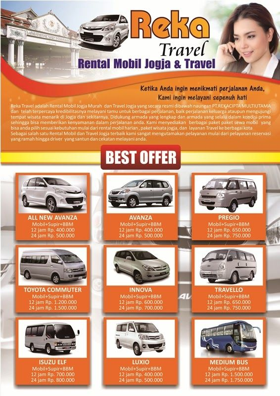 Contoh Iklan Rental Mobil  Contoh Iklan Produk dan Jasa