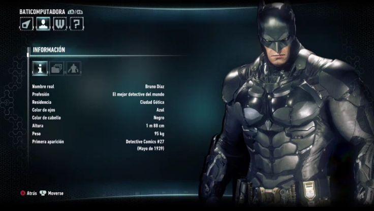 Batman arkham knight Bruno Díaz character