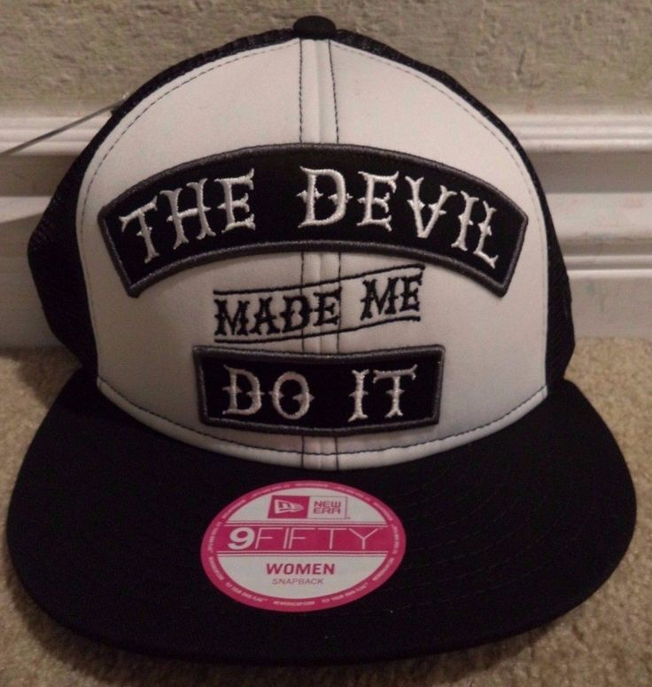 Metal Mulisha Women's The Devil Trucker Cap Hat Snapback