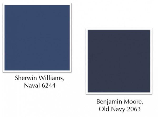 navy blue painted furniture  | Ask Tobi: Painting Furniture | Tobi Fairley