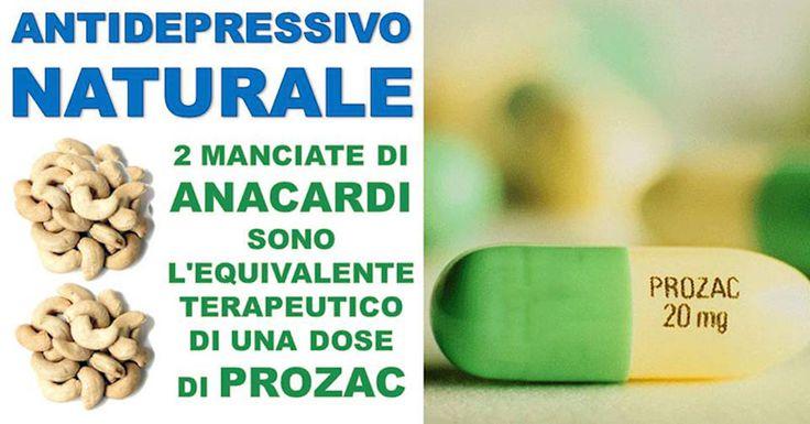 Due manciate di anacardi sono l'equivalente terapeutico di una dose di Prozac. Hanno un effetto così profondo che neanche i più efficaci antidepressivi possono imitare.