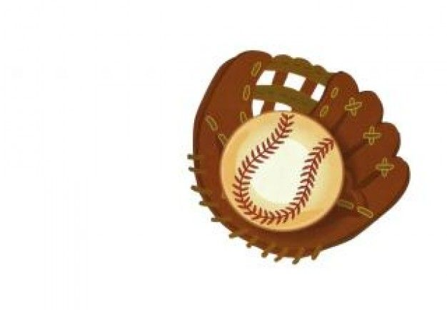 guante de béisbol, el béisbol Foto Gratis