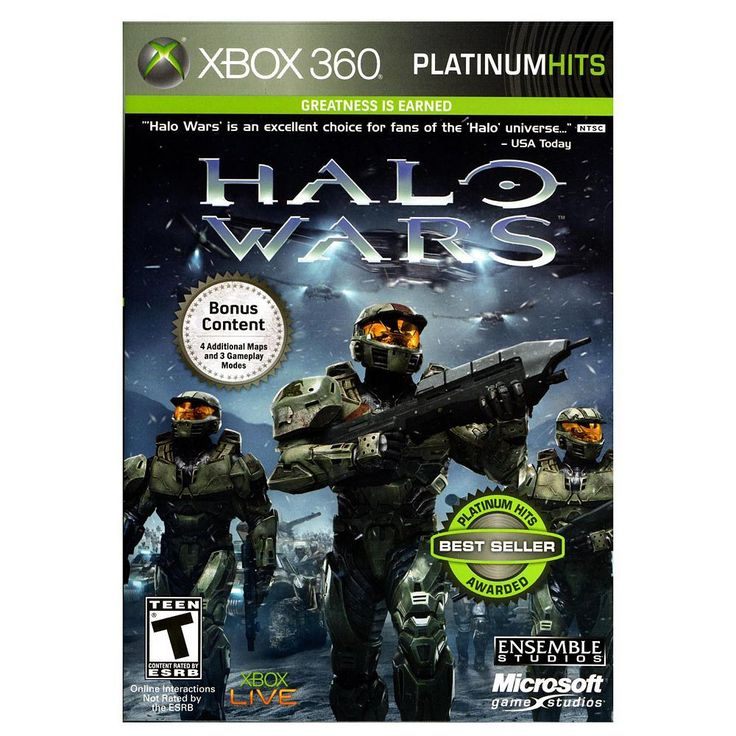 Halo Wars - Platinum Hits for Xbox 360, Multicolor