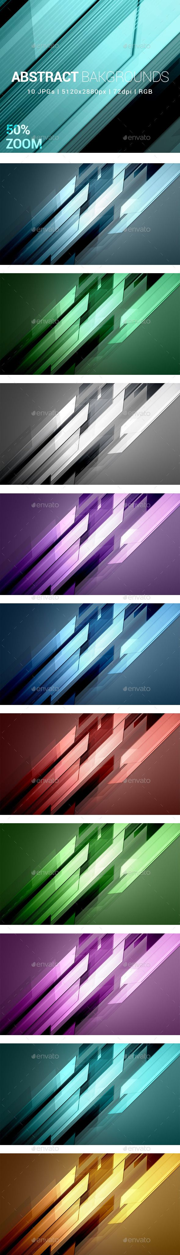 10 Abstract Backgrounds - Abstract #Backgrounds Download here: https://graphicriver.net/item/10-abstract-backgrounds/13266200?ref=alena994