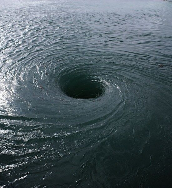 Bermuda Triangle Whirlpool-The Element of Life